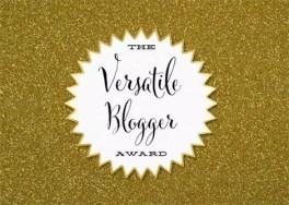 "The ""Versatile Blogger Award"" - Be artist Be art"