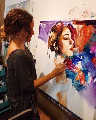 Painting Dreams - by Dimitra Milan - Be artist Be art - urban magazine