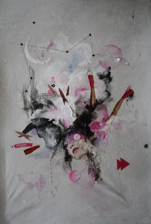 Unusual Contemporary Art - by AIN ilustration - be artist be art