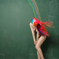Naked Rainbow - by Bruce Walker