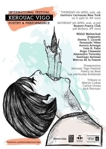 Kerouac Vigo International Festival - be artist be art