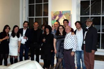 Some of tue portuguese artists and Mara Alves and Marcos Rizolli