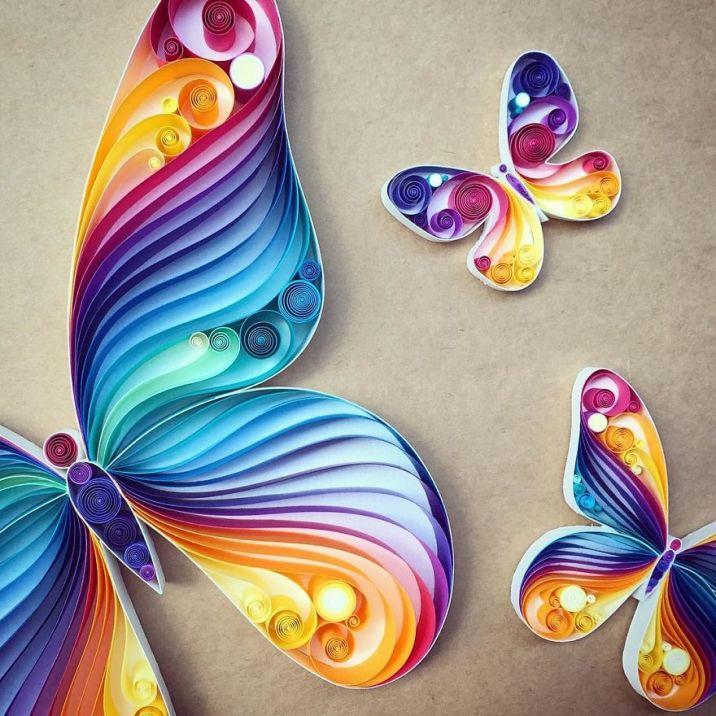 Colorful Paper Art - by Sena Runa - be artist be art