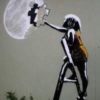 I will make the #moon for you! - #Creative & #Fantasy #StreetArt