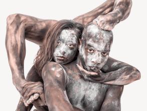 Transfiguration, 3D Human Figures - by Ben Hooper