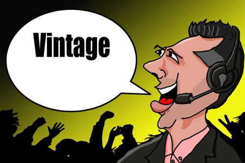 WWE Michael Cole Vintage