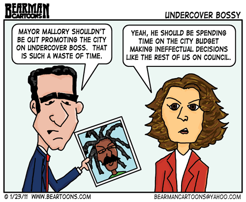 Editorial Cartoon: Undercover Bossy