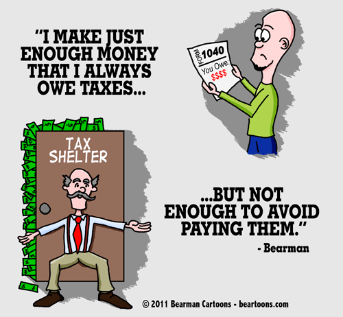 Editorial Cartoon: Why I Pay Taxes
