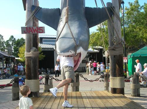 Universal Studios Jaws Ride