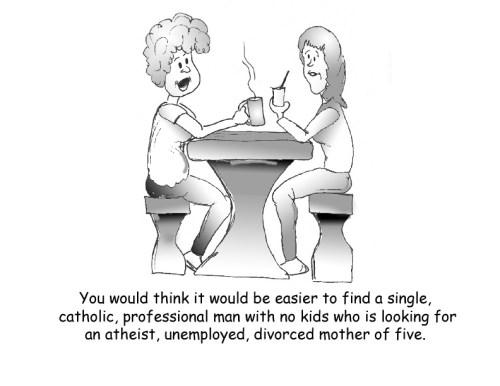 Internet Dating Complaints by Bearman Cartoons