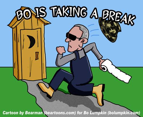 Bo Lumpkin Taking a Break