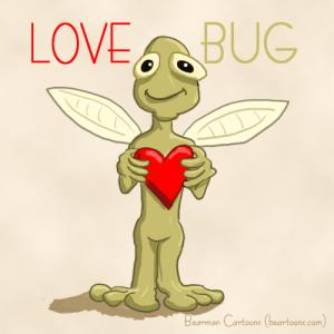 Love Bug by Bearman Cartoons