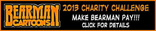 2013 Bearman Cartoons Charity Challenge