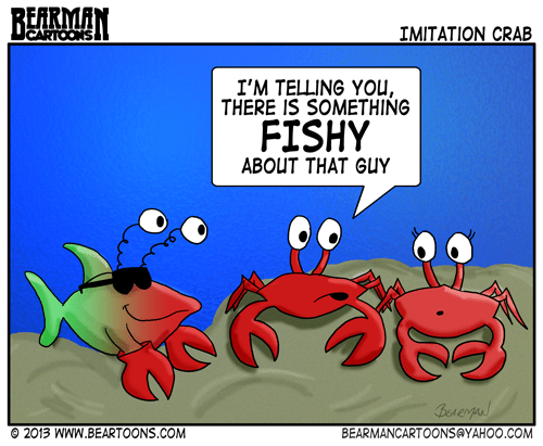 9 16 13 Bearman Cartoons Imitation Crab