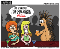 Dating Porcupines by Bearman Cartoons