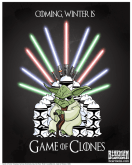 Bearman Cartoons Parody Game of Thrones and Star Wars