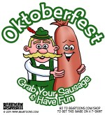 Oktoberfest Grab Your Sausage and Have Fun Tshirt