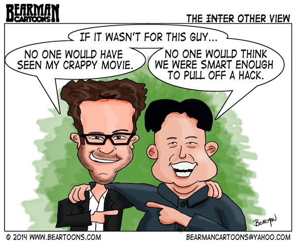12-29-14-Bearman-Cartoon-Kim-Jong-Un-and-Seth-Rogen