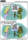 Black Lives Matter Editorial Cartoon Bearman Cartoons