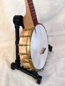 Banjo #003 Curly Maple / Bubinga