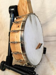 """Banjo #001 ""Chester"" – Wormy Chestnut / Black Locust"" is locked Banjo #001 ""Chester"" – Wormy Chestnut / Black Locust"