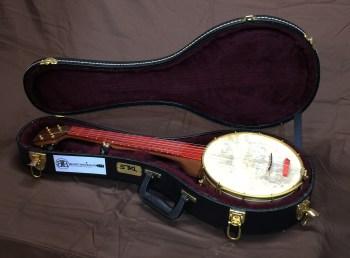 Banjo 009 Travel Banjo Sapele Wenge Padauk