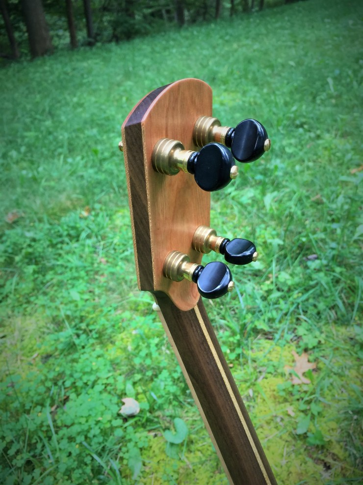 Banjo 017 headstock back view