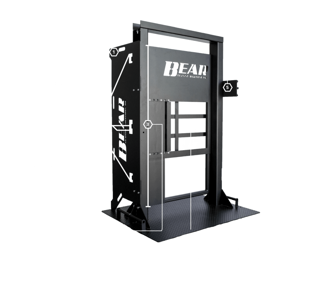 The Ultimate Training Door showing features 1 - 5