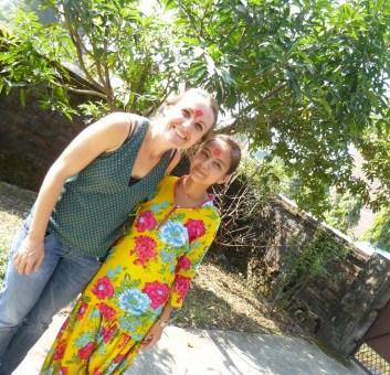 Una visita de la tia Regla en Nepal