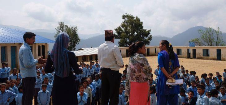 Nuestra segunda semana en Janalibandali fue más tranquila que la primera