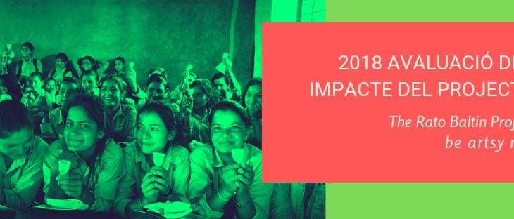 Informe d'avaluació del projecte 2018