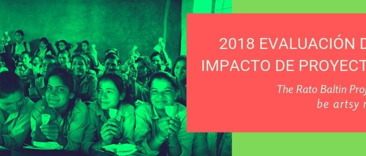 Informe de evaluación del proyecto Rato Baltin 2018