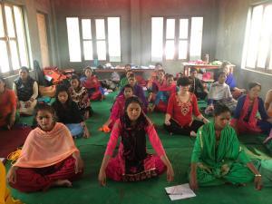 Meditation helps in Saphebagar