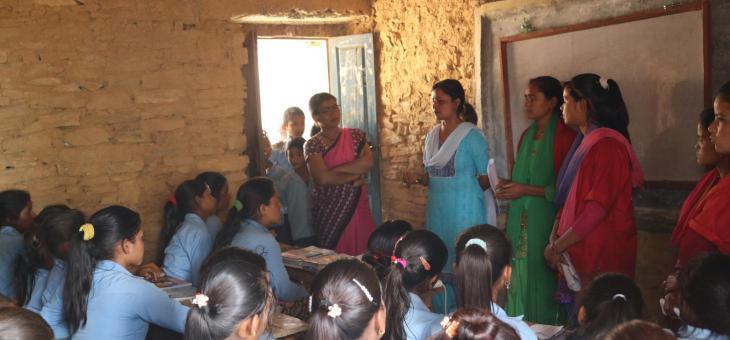 Explorant-me  (Testimoni d'una voluntària nepalesa)