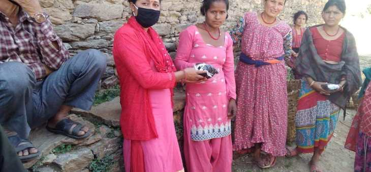 Emergency in Achham, Nepal. Masks 4 Health and food against Covid-19