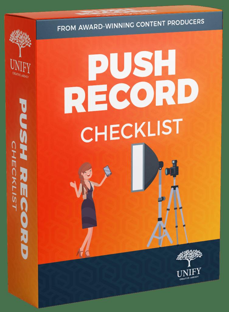 Push Record Checklist Box