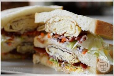 【食譜】玉子燒培根三明治