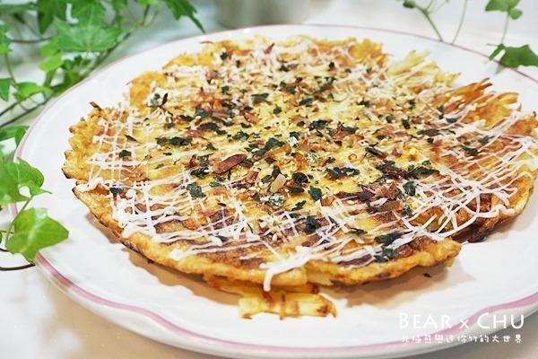 香酥可口日式馬鈴薯煎餅披薩