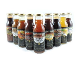 Beary Berry Honey Glazes, great for grilling, pan-searing, marinades and dips.