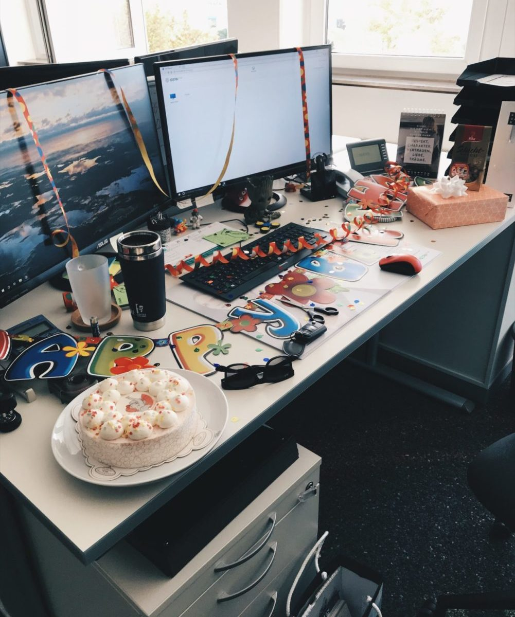 Geburtstag | Arbeitsplatz