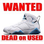 FRENCH BLUE AIRJORDAN7 RETRO NIKE 買取情報