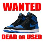 ROYAL AIR JORDAN1 RETRO HIGH OG 買取情報