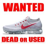 AIR VAPORMAX FLYKNIT PURE PLATINUM RED NIKE 買取情報