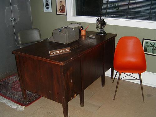 Marion Keisker's Desk