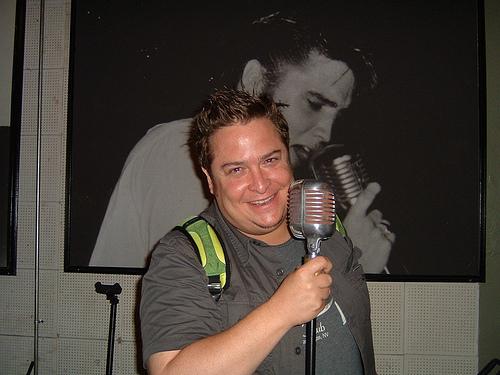 Tom @ Elvis' Mic