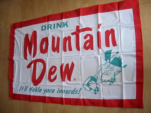 Vintage DEW flag!