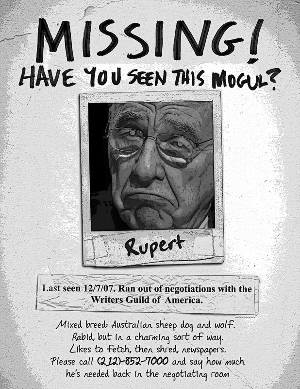 Rupert Murdoch!