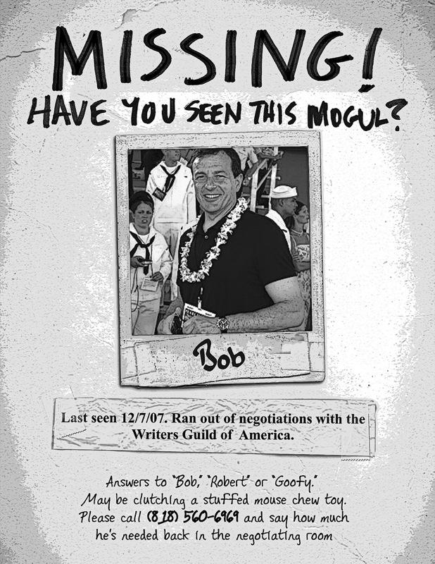 Bob Iger!