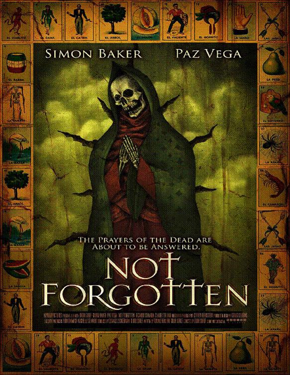 NOT FORGOTTEN teaser poster! (2008)