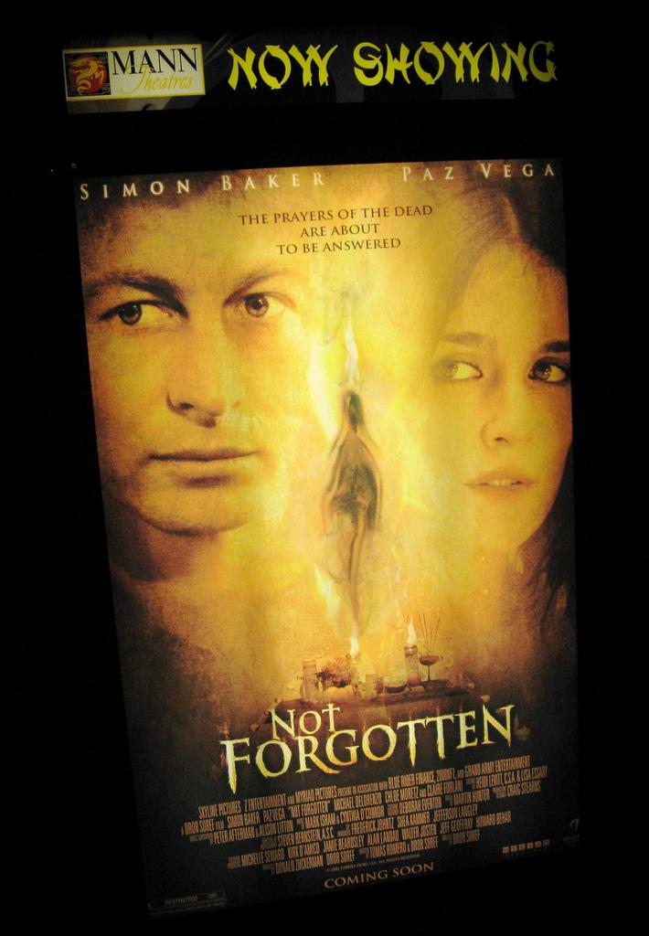 NOT FORGOTTEN premiere night #2